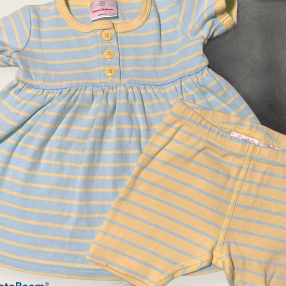 Hanna Andersson 2-piece girls outfit